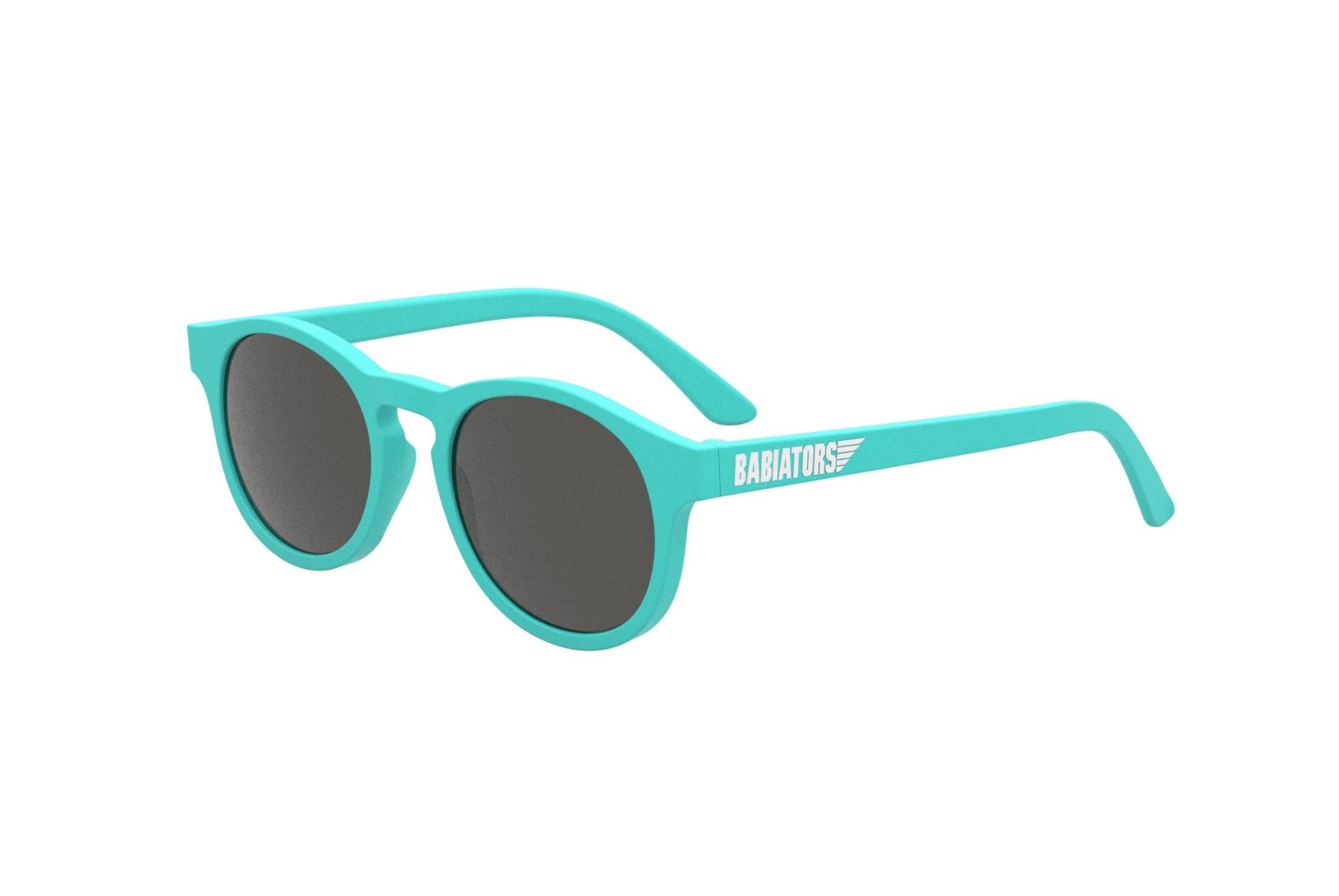 Keyhole Style Sunglasses - Totally Turquoise