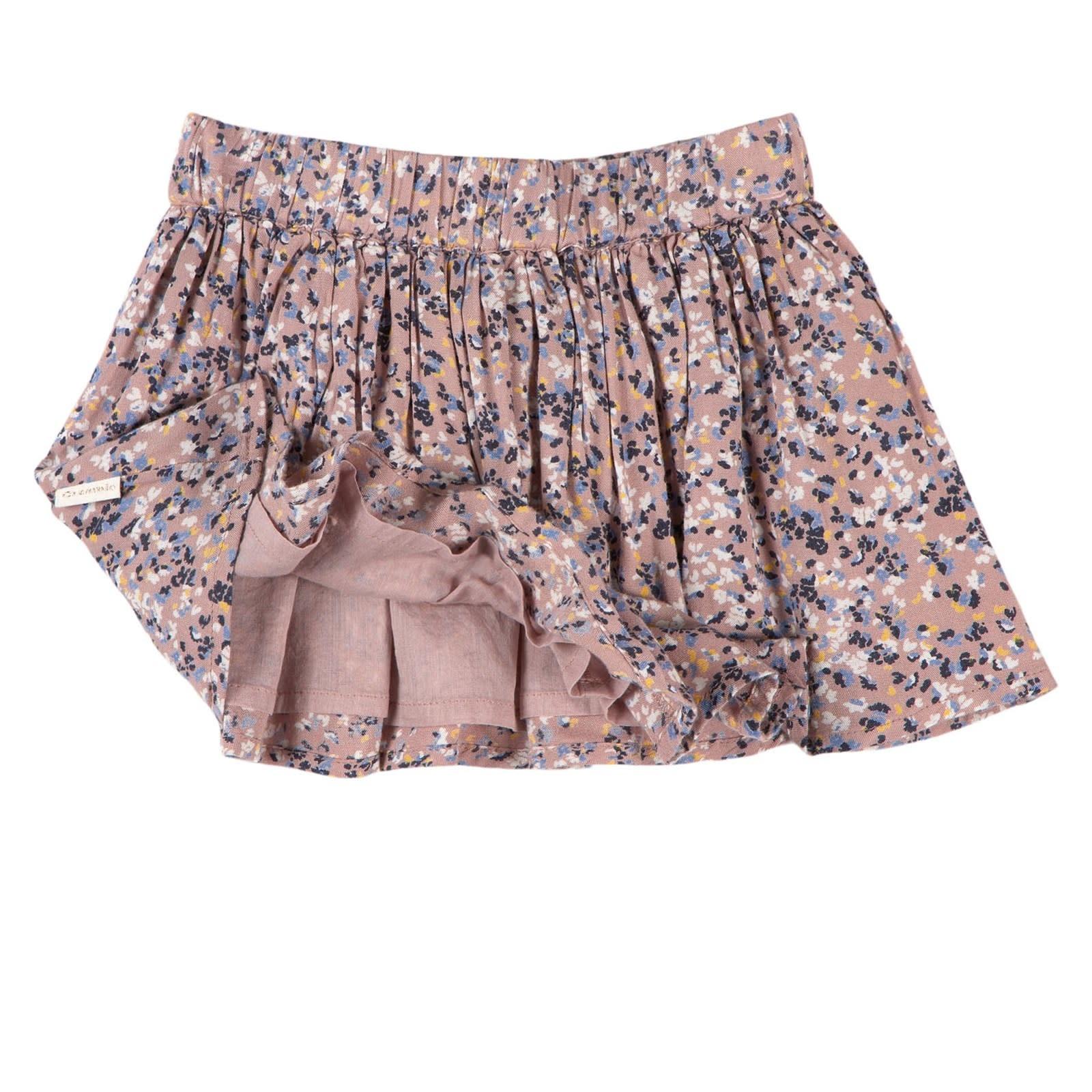 Cotton Skirt - Adobe Rose Floral