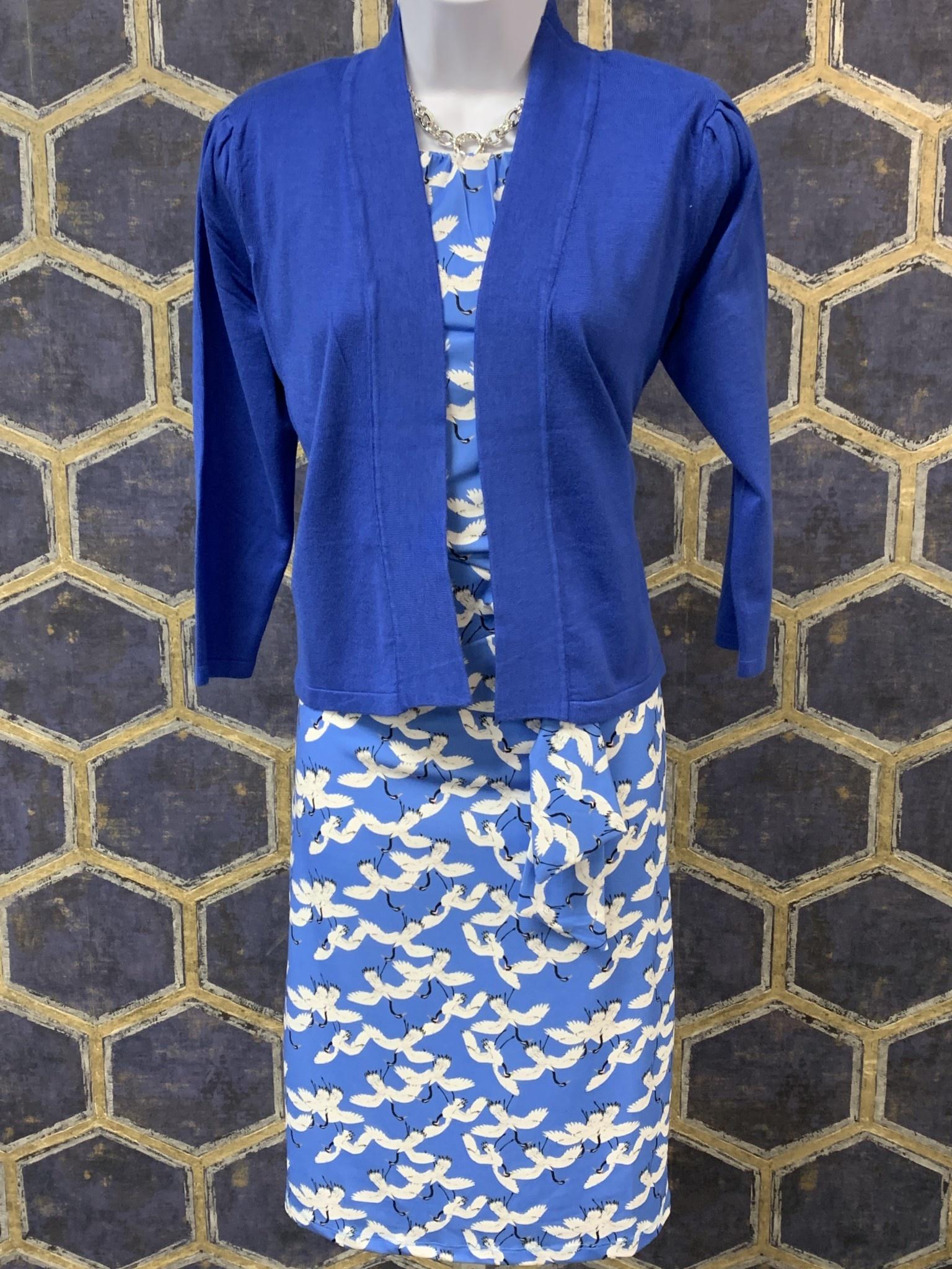Side Tie Dress - Iris Crane