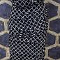 Layered Skirt - Navy Cord