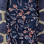 Layered Skirt - Navy Paisley Floral