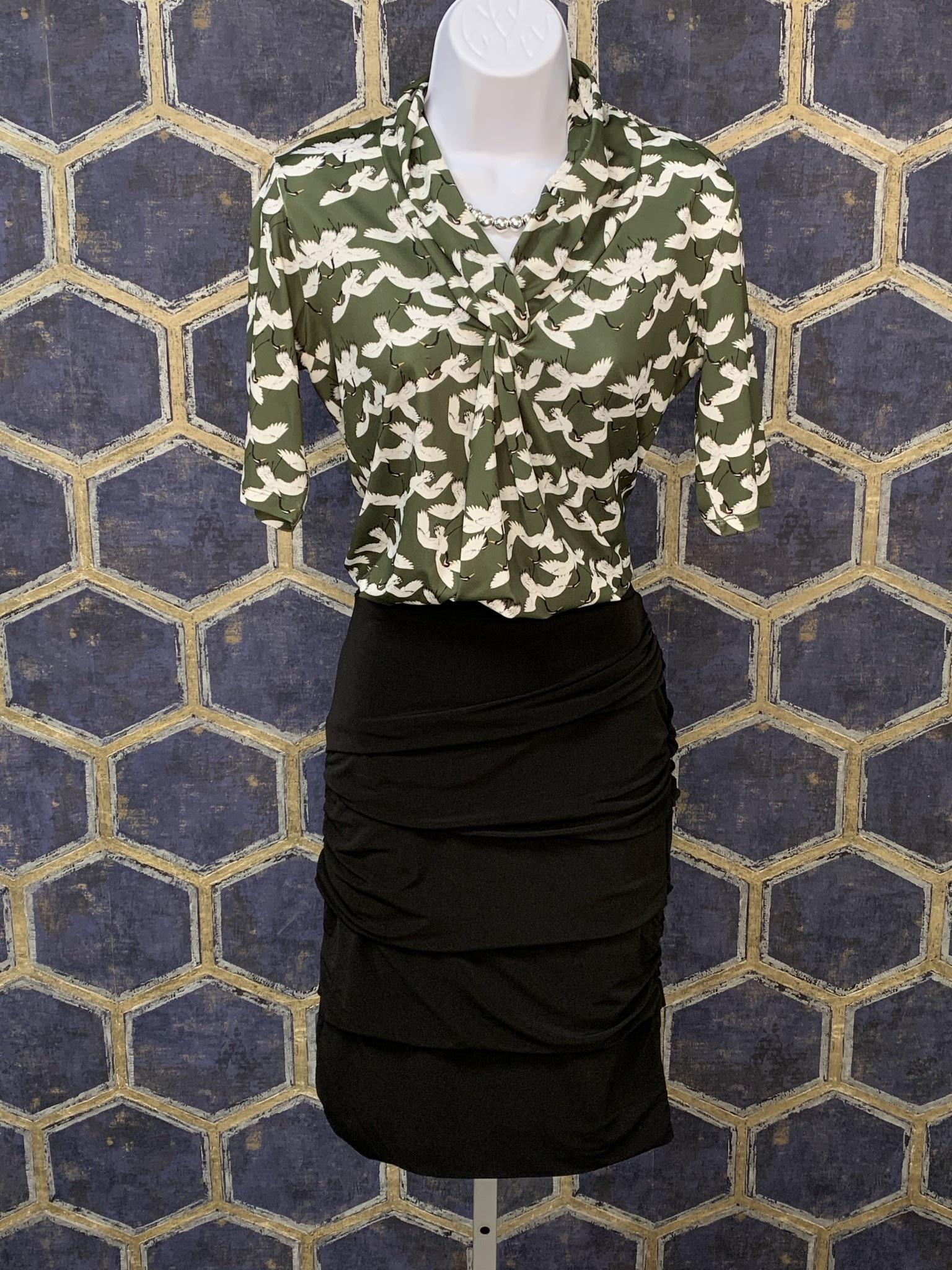 Layered Skirt - Black