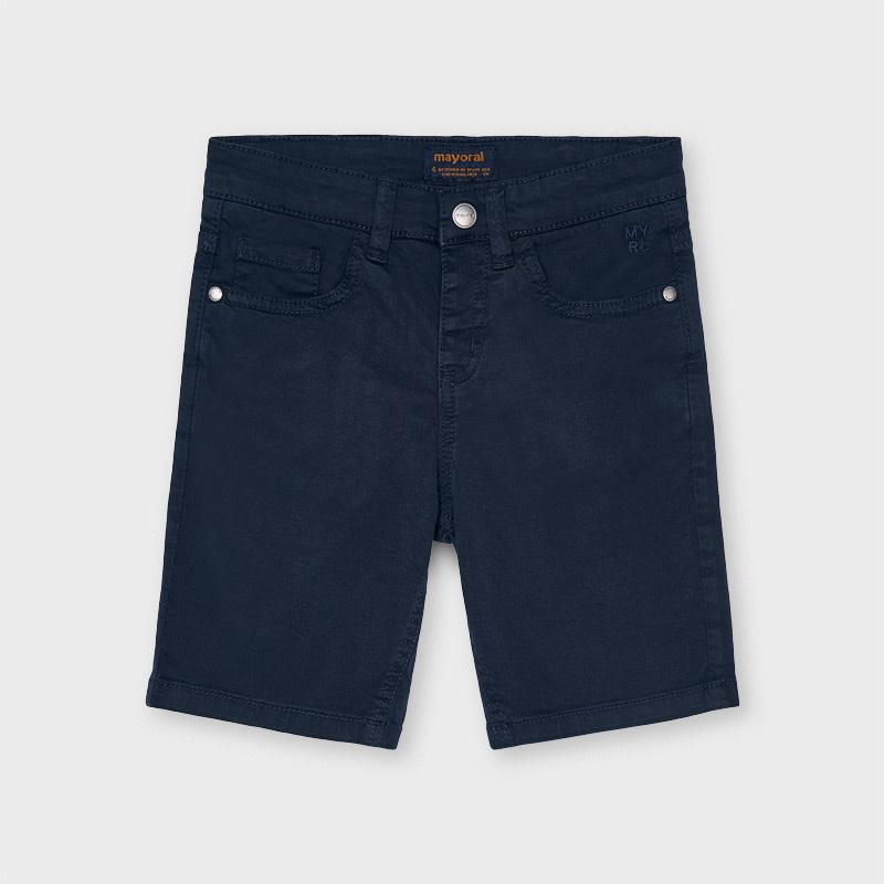 5 Pocket Twill Shorts - Navy