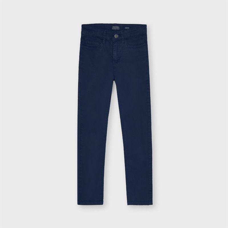 5 Pocket Slim Fit Pants - Navy
