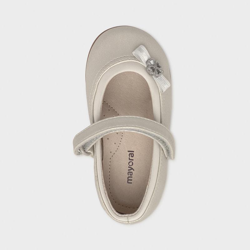 Girls Clover Ballerina Flat