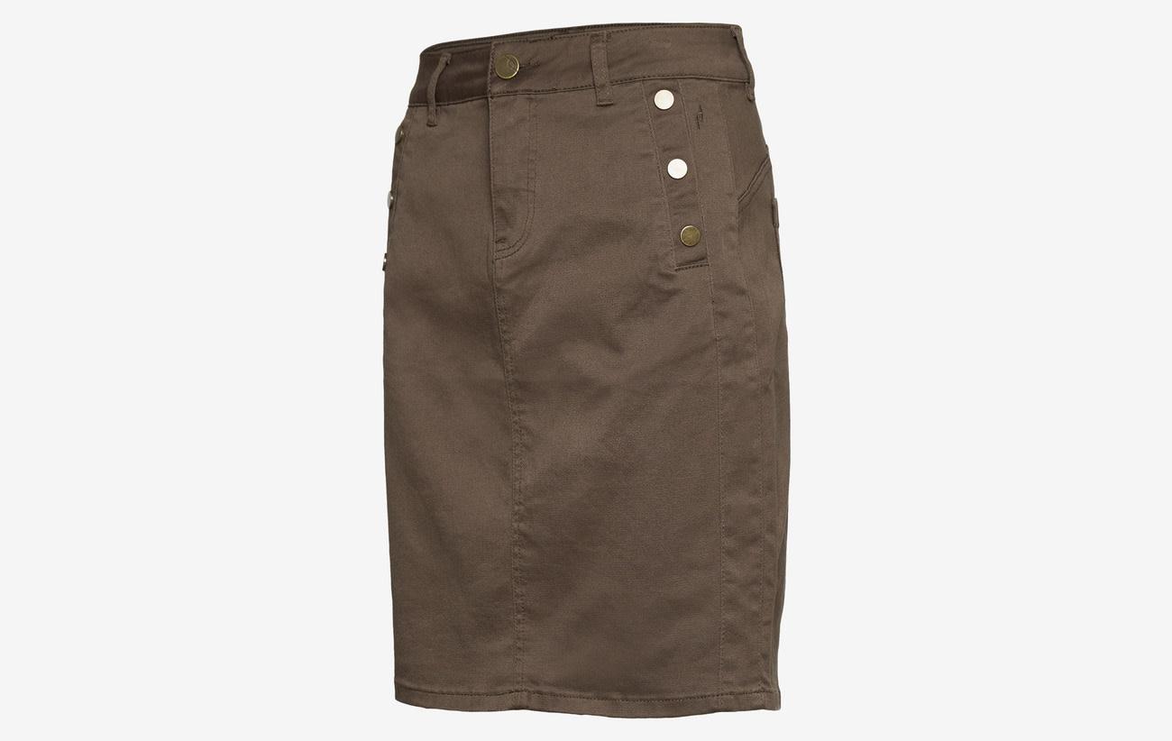 Lomax Skirt - Green Ink