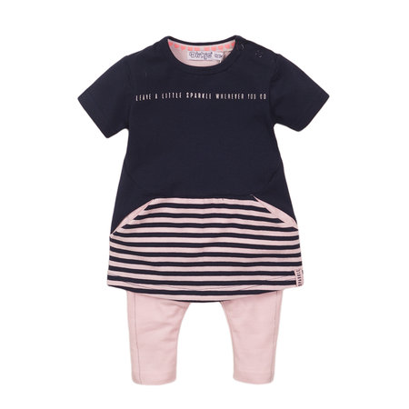 Leave A Little Sparkle Dress & Legging Set