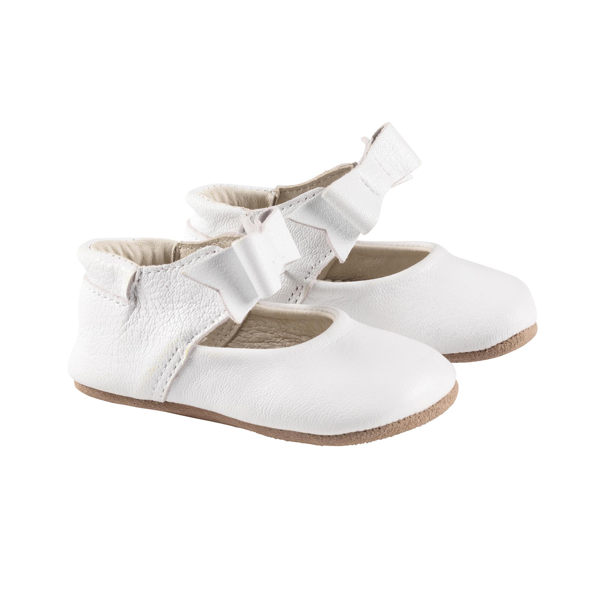 Sofia White Robeez Shoes - First Kicks