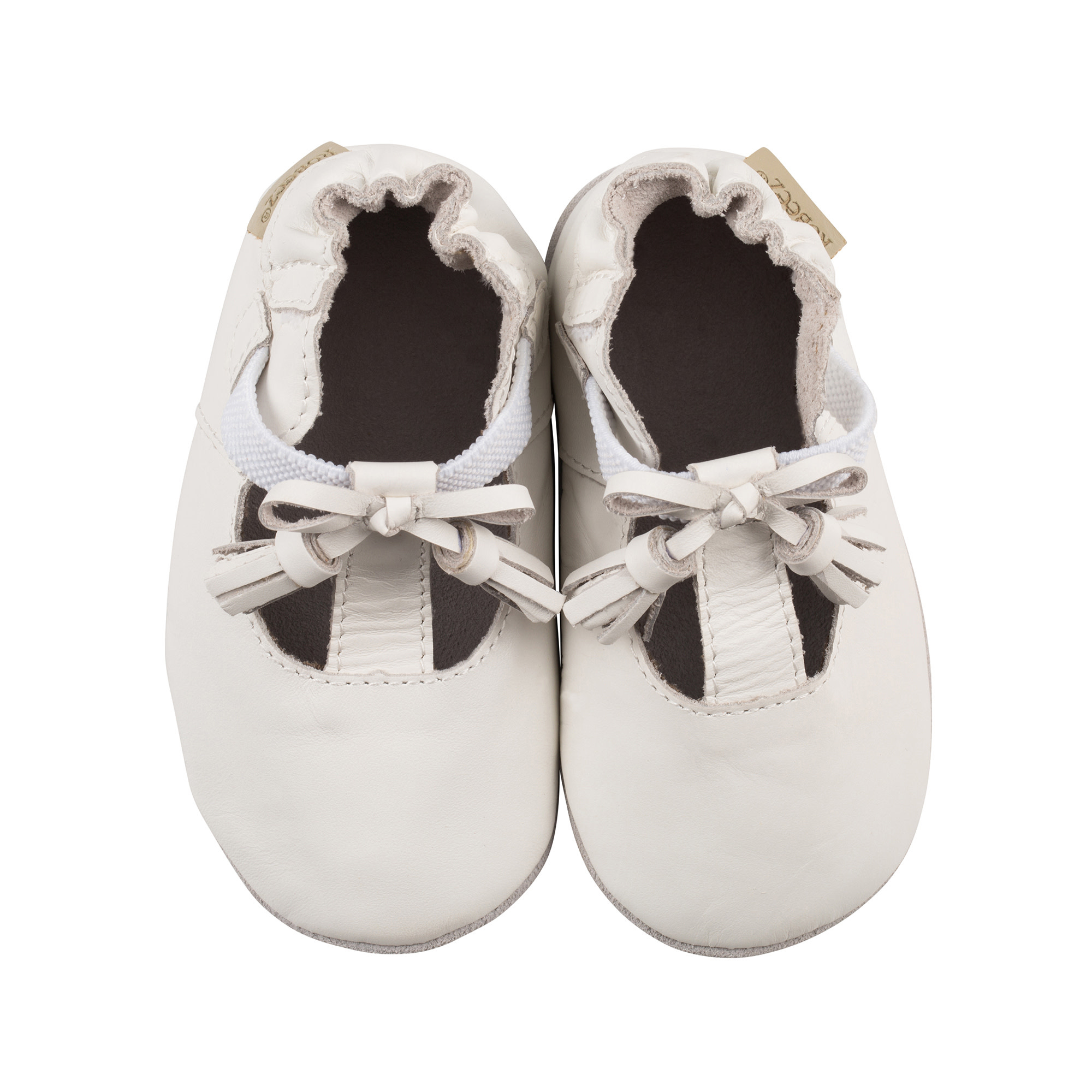 Meghan White Robeez Shoes - Soft Soles