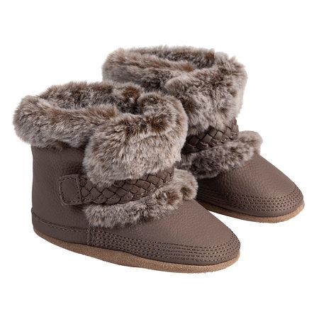 Montana Brown Robeez Shoes - Cozies