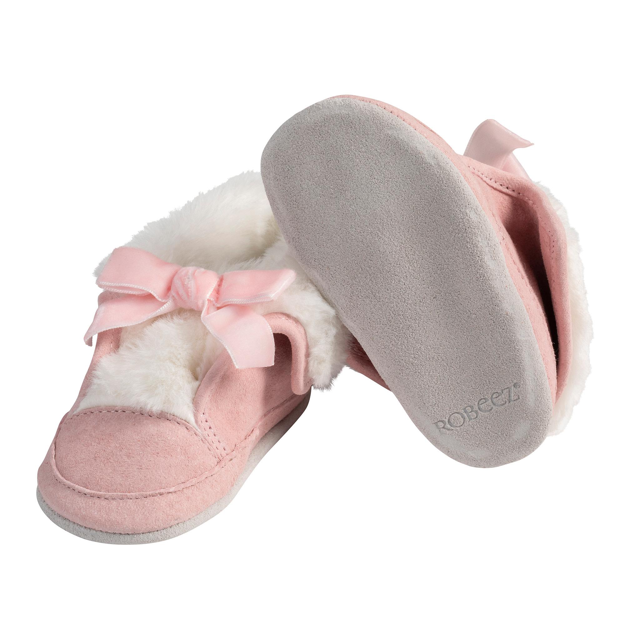 Willa Pink Robeez Shoes - Cozies