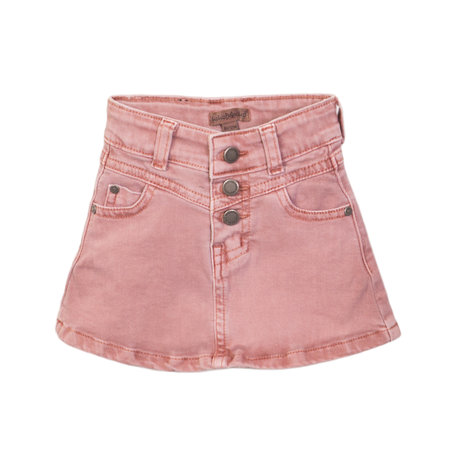 Roses Jean Skirt