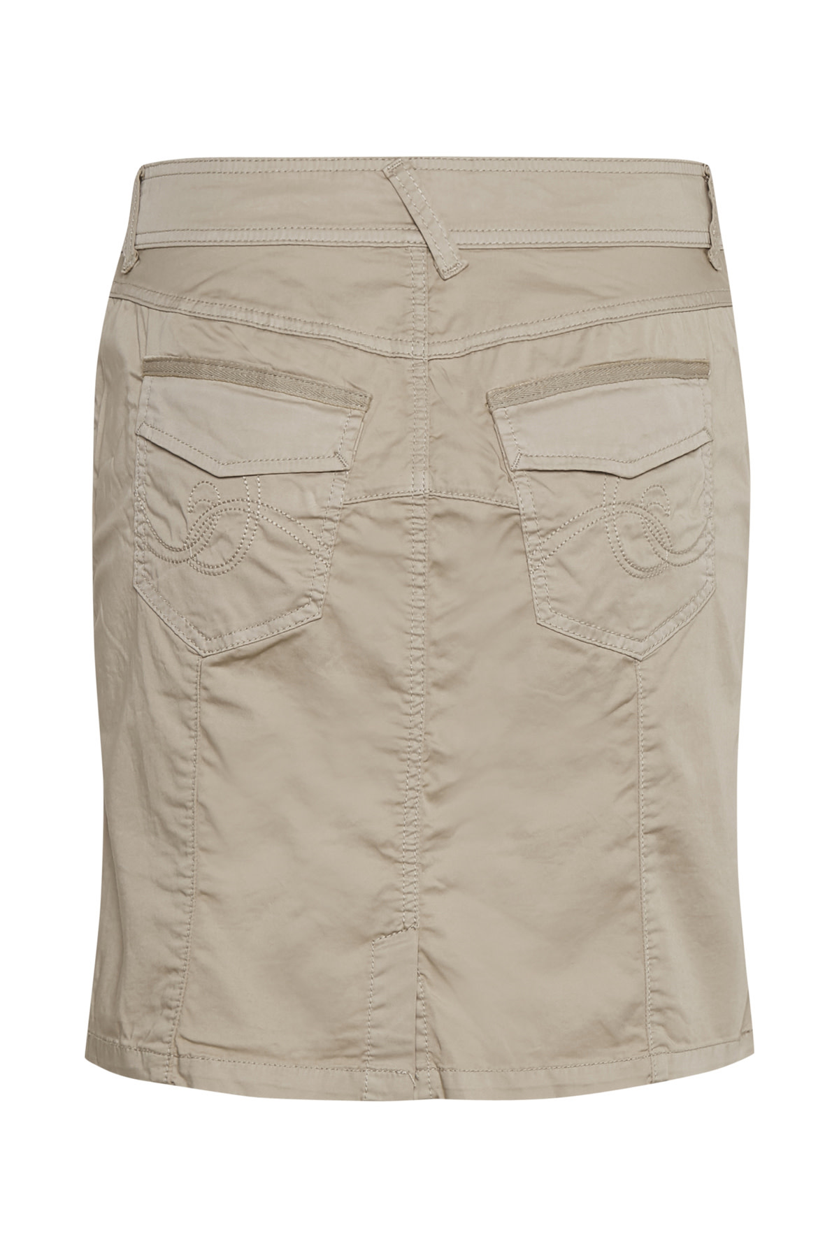 Alba Skirt - Feather Gray
