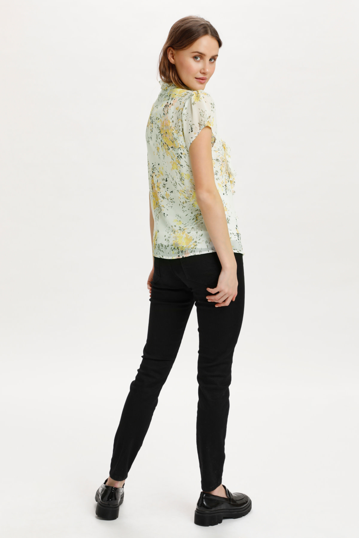 Lilly Short Sleeved Blouse