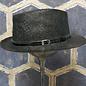 Simple Western Style Ladies Hat - Black