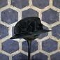 Black Ladies Hat with Small Brim & Straw Bow