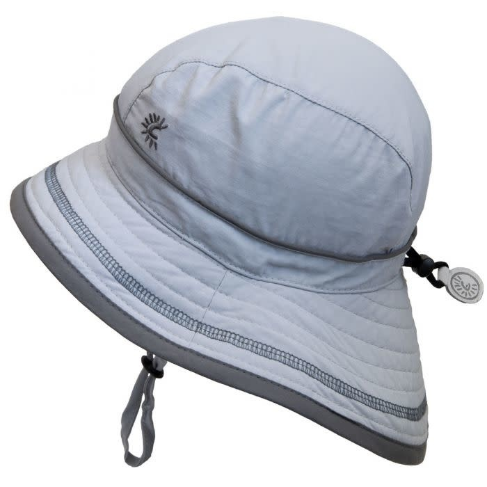 Quick-Dry Hat with Neck Shade - Harbor Grey