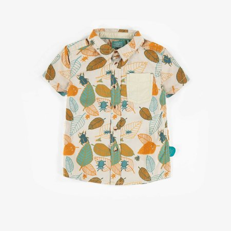 Camping Short Sleeve Dress Shirt