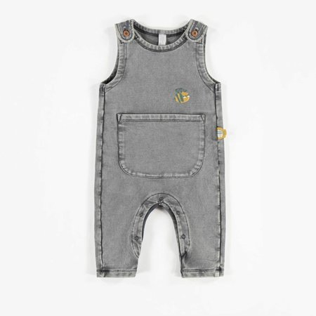 Honey Overall - Organic French Terry