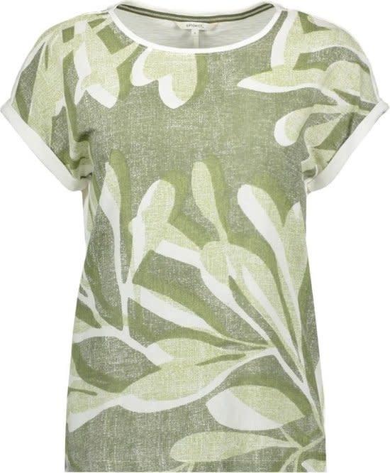 Leafy Print Tee