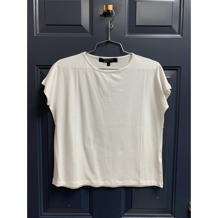 Basic Cropped Tee - Offwhite