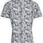 Dress Blues Print Short Sleeve Dress Shirt