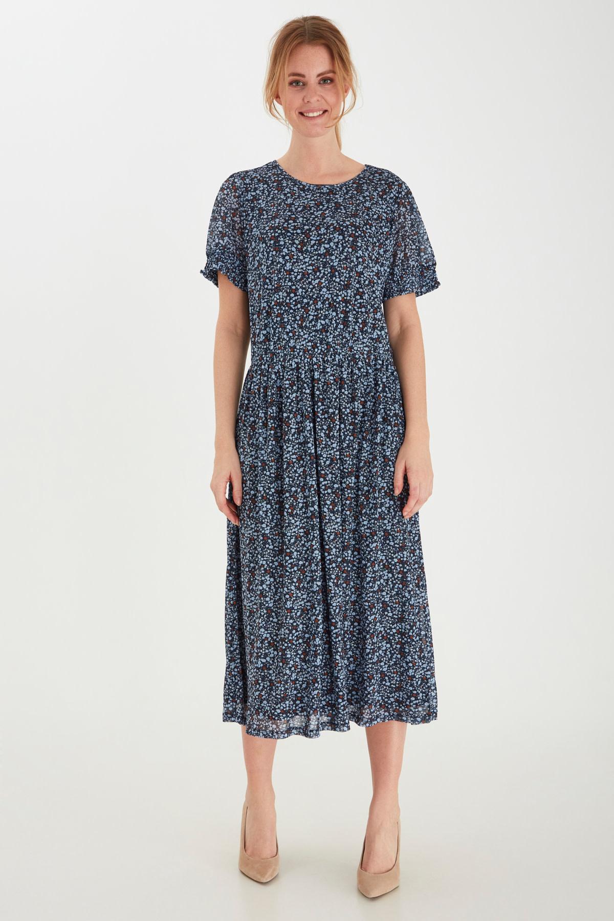 Mesh Floral Dress