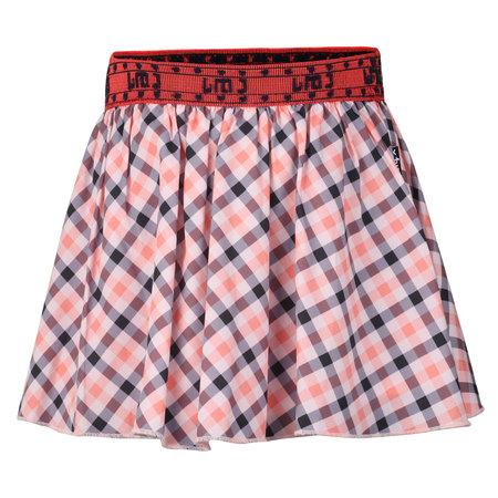 Tropical Plaid Skirt