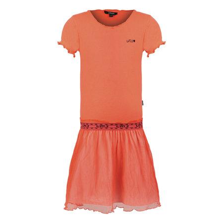 Coral Rib Dress