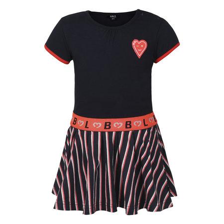 Navy Stripe Skirt Dress