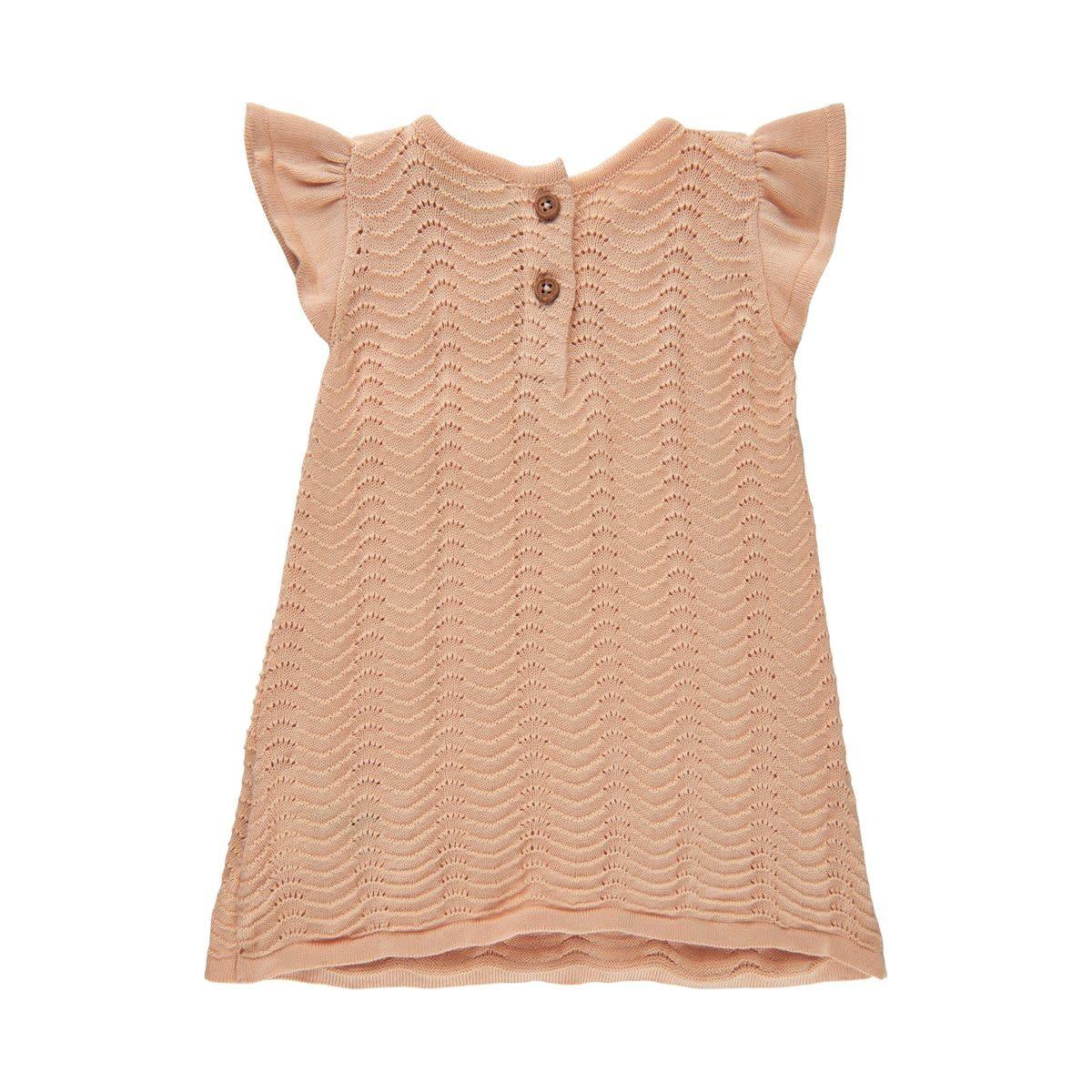 Knit Dress - Peach Bellini
