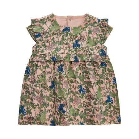 Print Dress & Bloomer Set - Cameo Rose