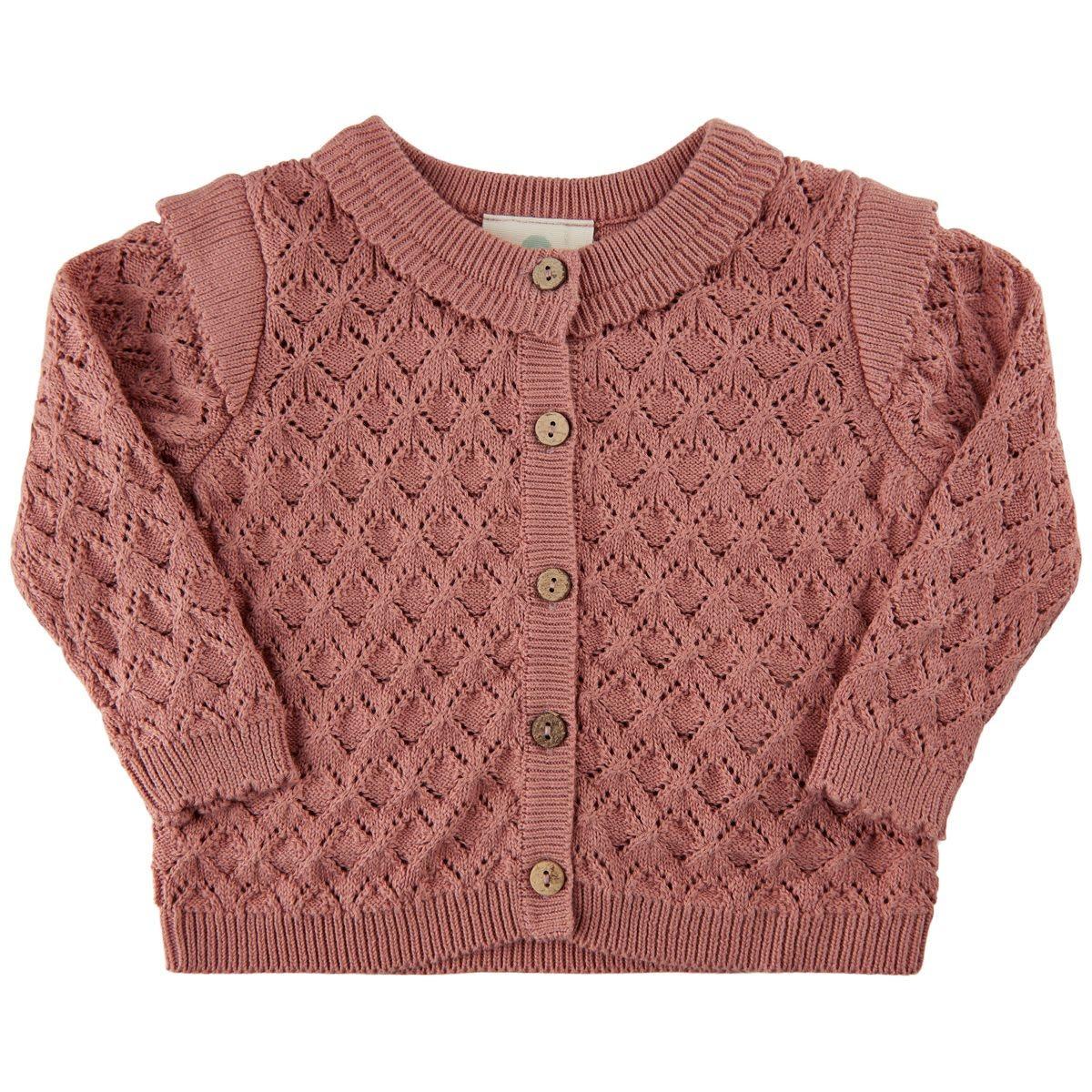 Knit Cardigan - Rose Dawn