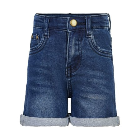 Jersey Denim Shorts