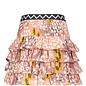 Smocked Ruffle Skirt