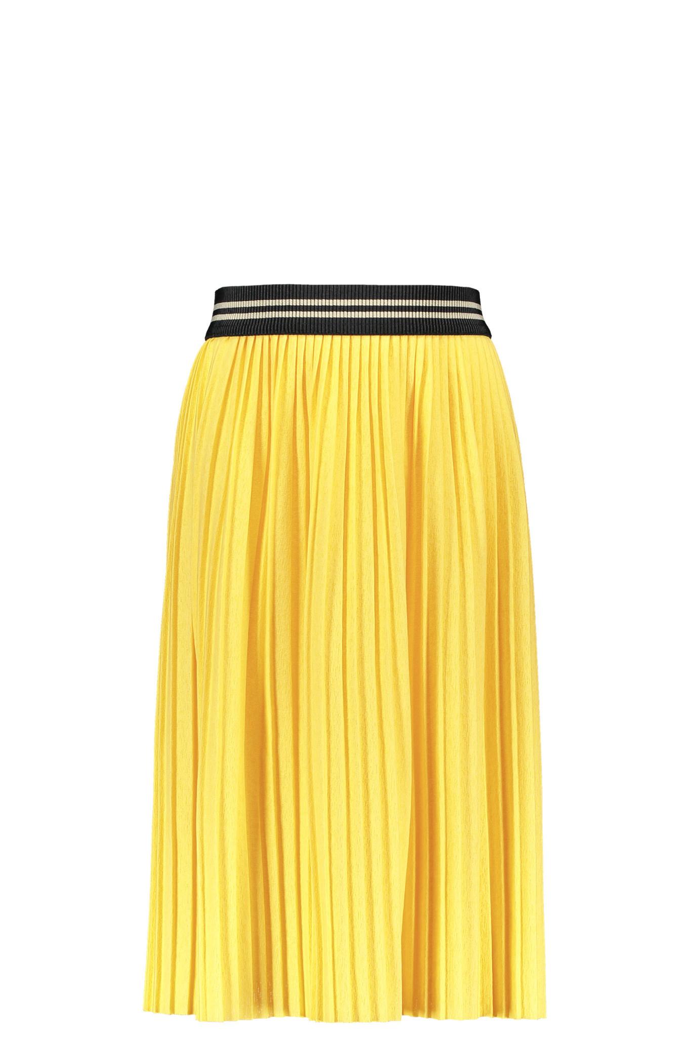 Jersey Plisse Skirt