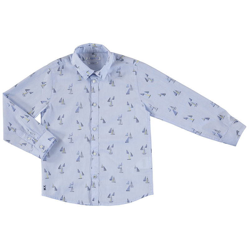 Sailboats Dress Shirt