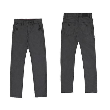 Dark Grey Boys Dressy Pants