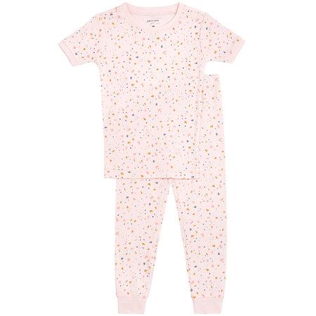 Pink Speckle PJ Set