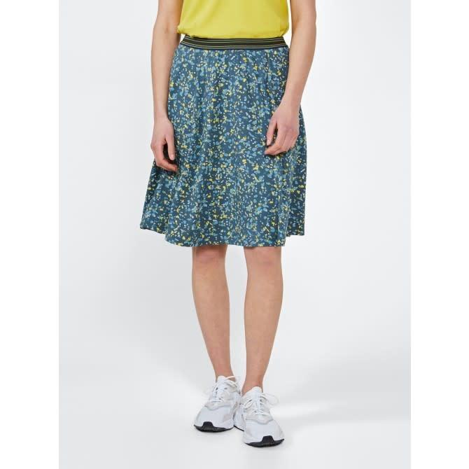 Jersey A-Line Skirt - Deep Water
