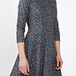 Print Jersey A-Line Dress - Night Sky