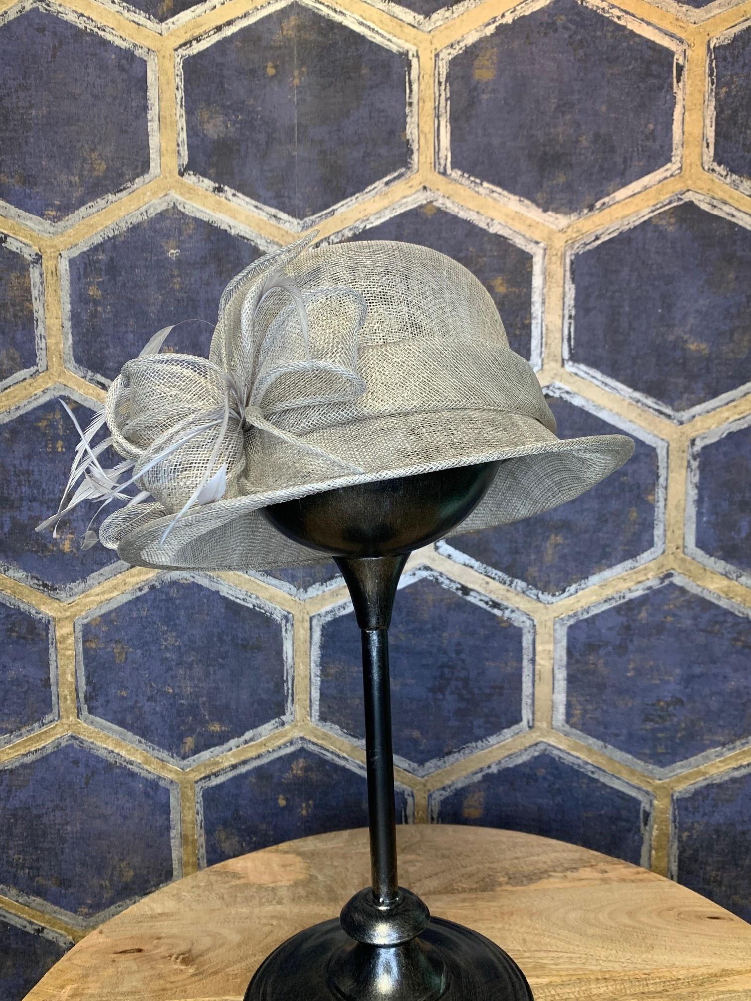 Ladies Small Grey Hat