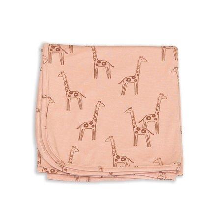 Bamboo Swaddle Blanket - Daisy Giraffe