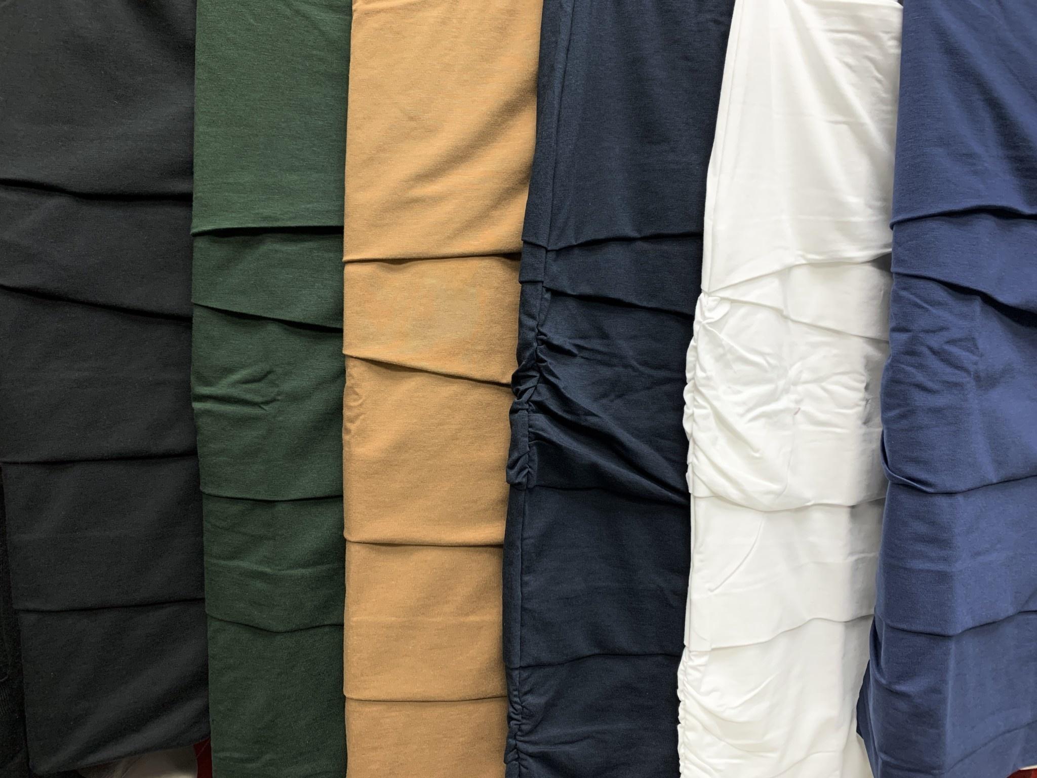 Plus Size Jersey Layered Skirt