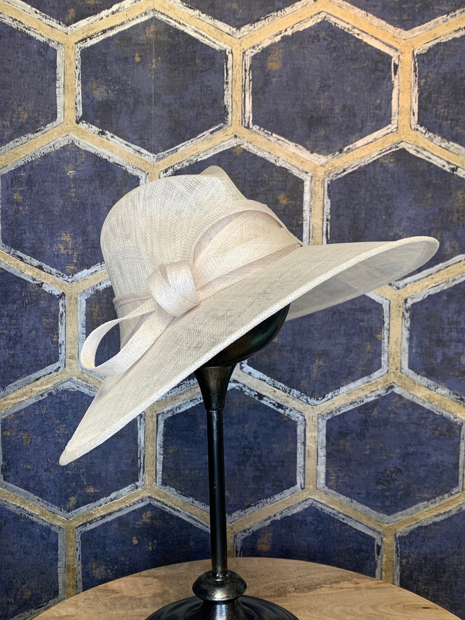 White Ladies Western Style Hat