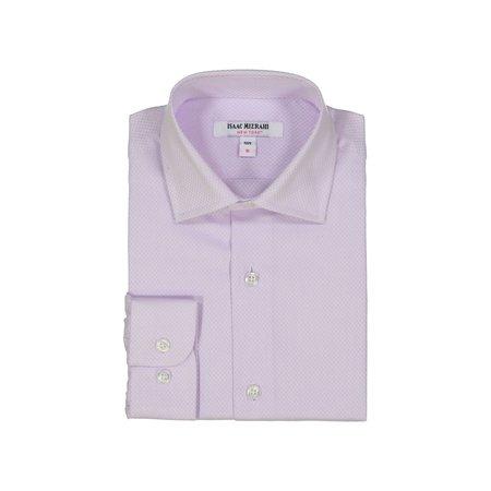 Boys Dress Shirt - Lilac Mini Boxes