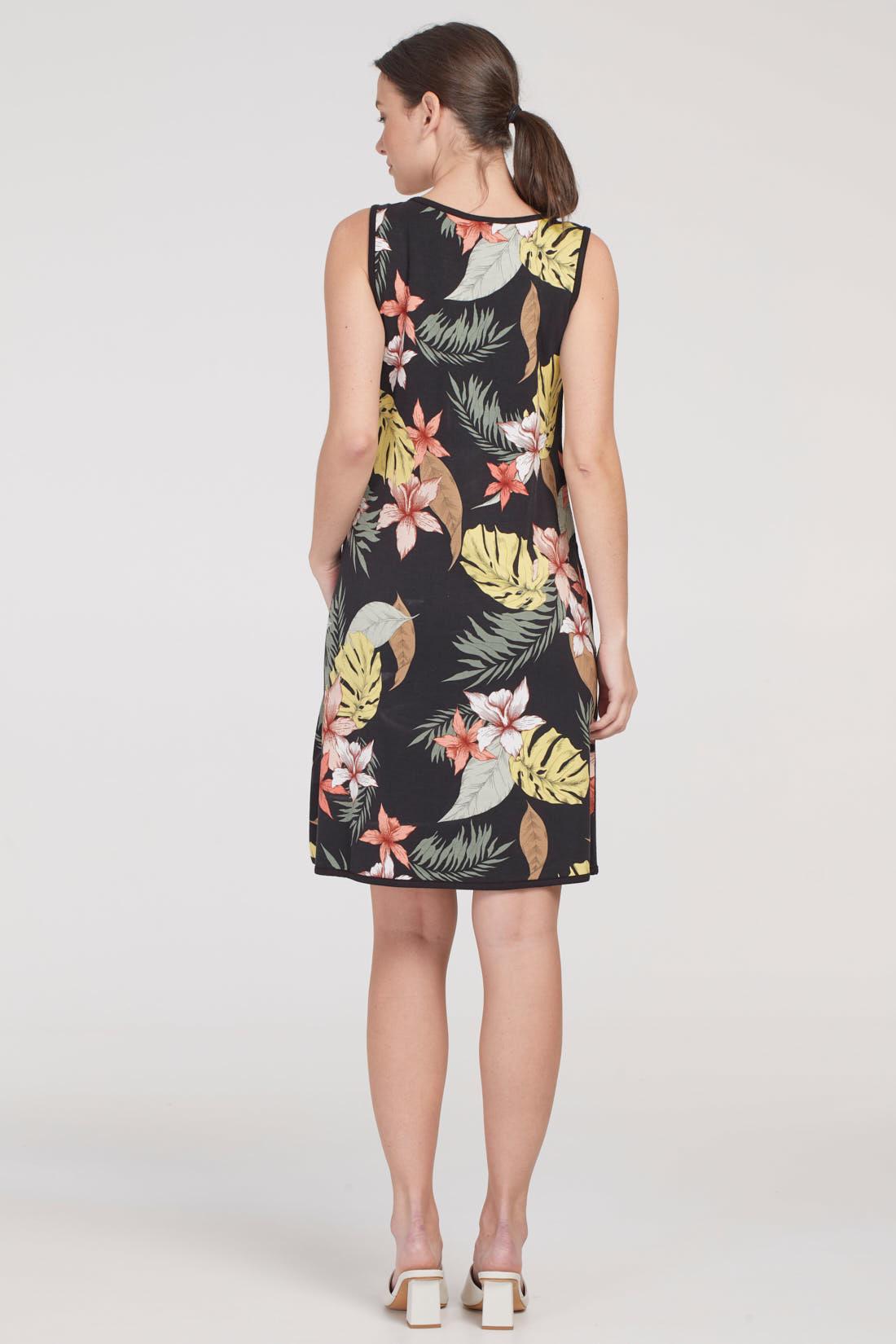 Reversible Print Dress