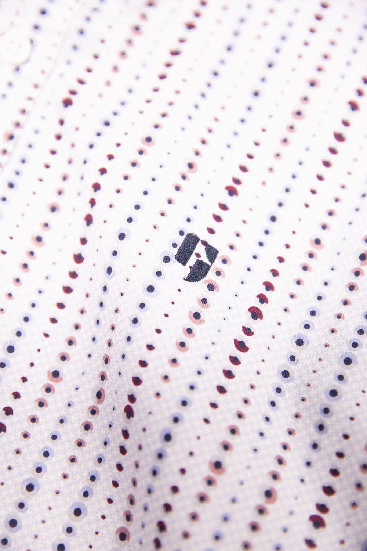 Long Sleeve Dress Shirt - Moon Stripe