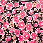 Pink Floral Jersey Tee
