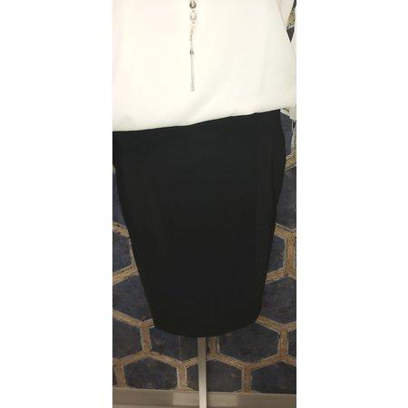 Black Travel Jersey Skirt
